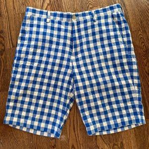 J Crew Men's Gingham Shorts